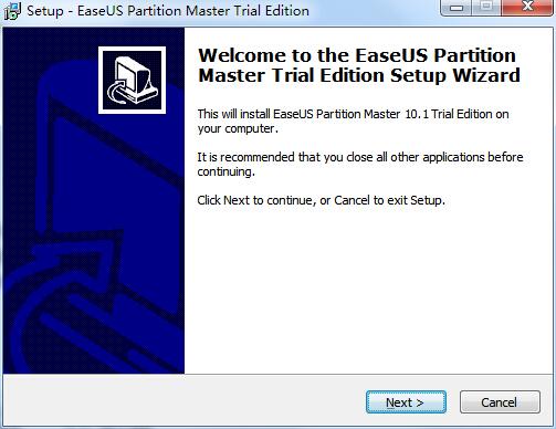 EASEUS Partition Master Professional截图2