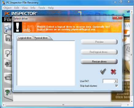 PC Inspector File Recovery截图3