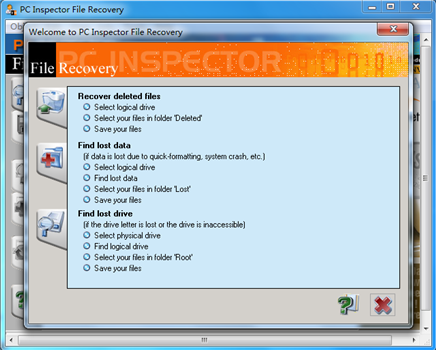 PC Inspector File Recovery截图2