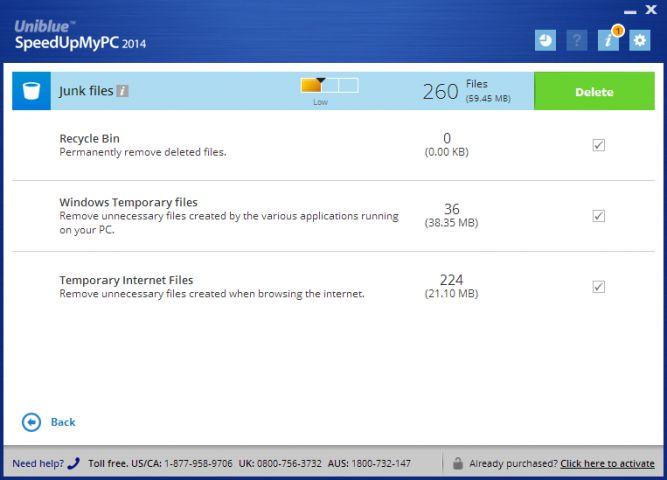 Uniblue SpeedUpMyPC 2013截图2