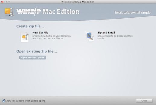 winzip MAC版截图3