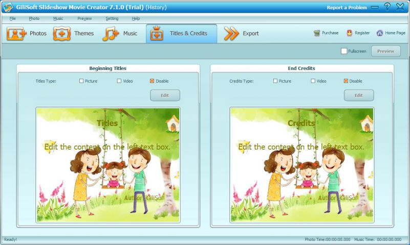 GiliSoft Slideshow Movie Creator截图3