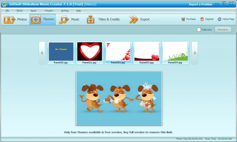 GiliSoft Slideshow Movie Creator截图2