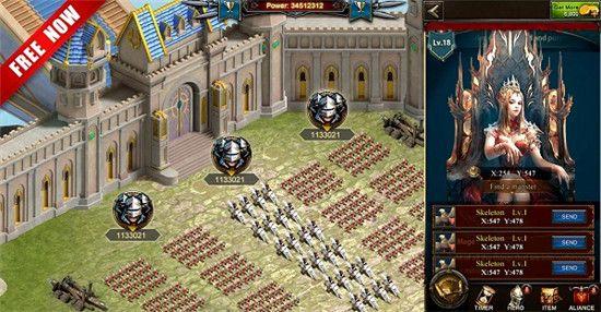 《女王的纷争》变态版游戏评测:世界同服,征战四方