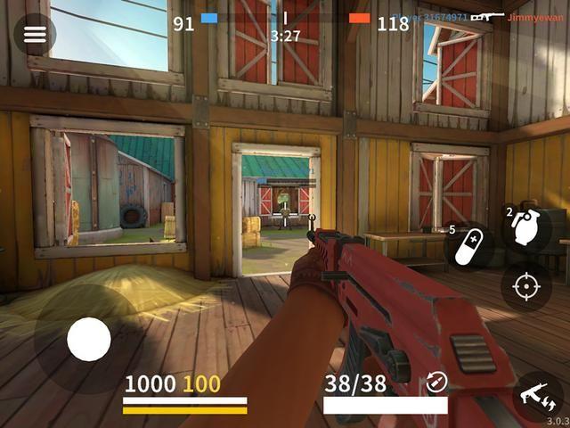 《爆裂枪战》评测:快节奏的团队战术射击