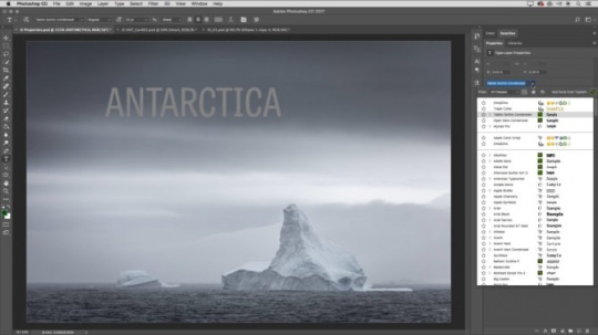 Adobe PhotoShop CC Mac版截图2