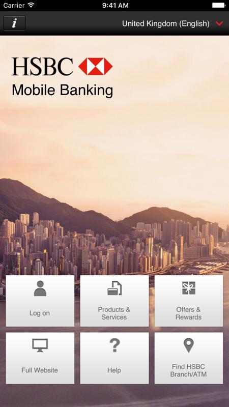 HSBC Mobile Banking展示图