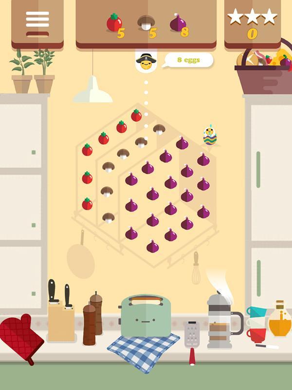 《PongPongEgg》评测:美味食物射击消除