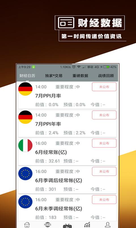 黄金交易app截图3