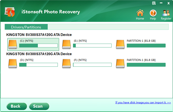 iStonsoft Photo Recovery截图1