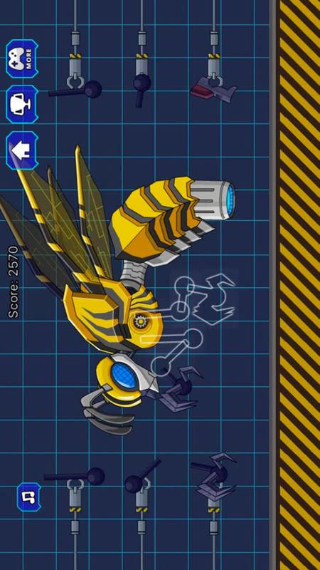大黄蜂组装之恐龙争霸截图1