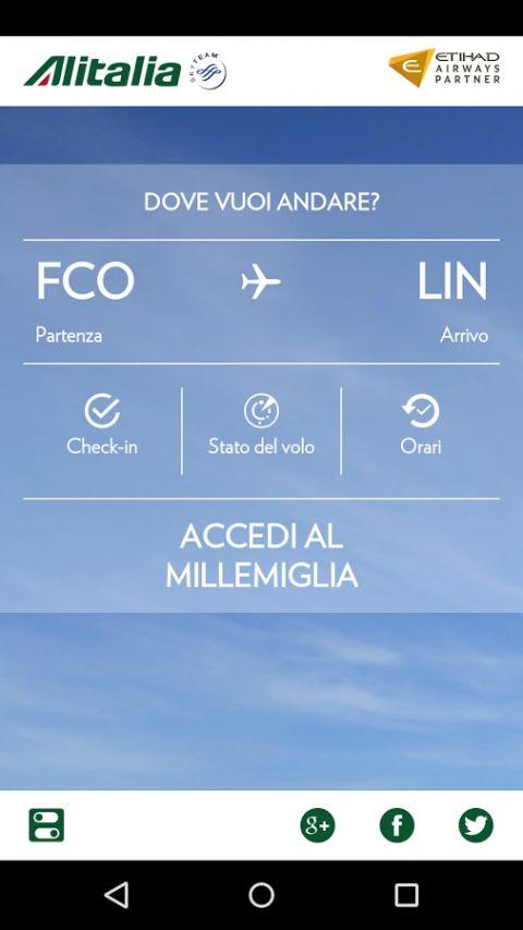 意大利航空APP截图1