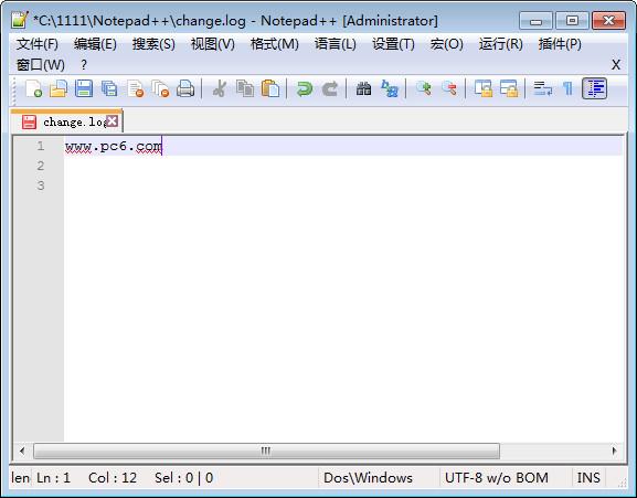 代码编辑器Notepad截图1