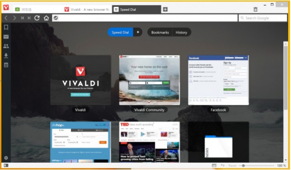 vivaldi浏览器截图3