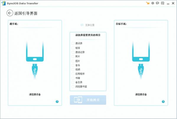iOS数据传输软件Syncios Data Transfer截图3