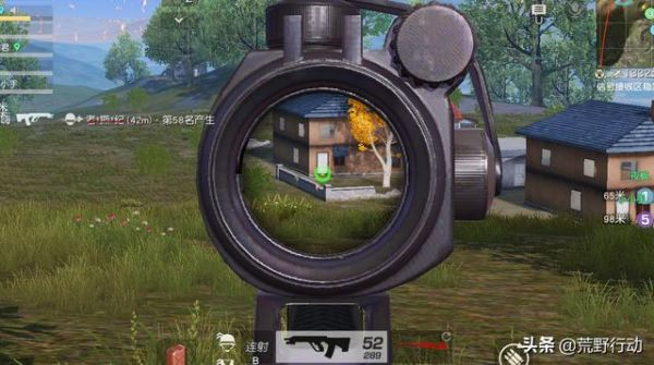荒野行动:空投废枪新增4个配件槽!逆袭成最强步枪!之前没人捡