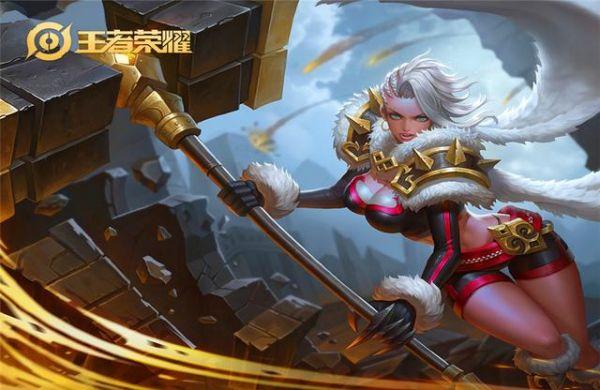 王者荣耀:典韦都不是她的对手,却因为颜值被玩家嫌弃!