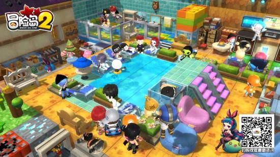 《冒险岛2》造梦测试今日开放预下载 周边商城同步发售