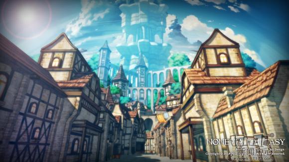 二次元连珠RPG《诺文尼亚》3D场景如动漫