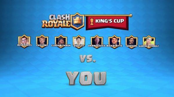 《皇室战争》将于 11 月举办国王杯锦标赛