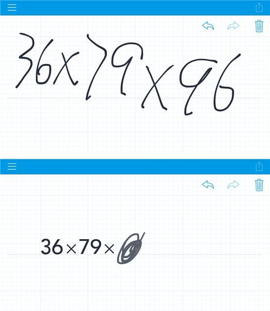 手写计算器:可以识别手写复杂公式的App