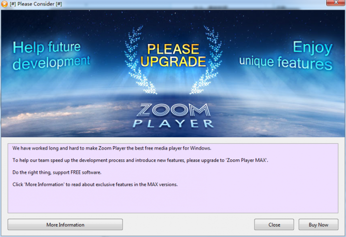 Zoom Player home professional截图2