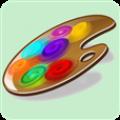 绘画与涂色app icon图