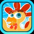 儿童益智拼图游戏app icon图