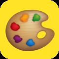 全民学画画app app icon图