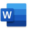 手机word app icon图