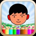 儿童涂涂乐游戏app icon图