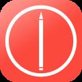 美术圈app icon图
