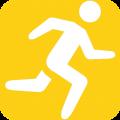 乐动健身计步器app icon图