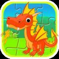 宝宝儿童动物拼图app icon图