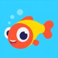 伴鱼绘本app icon图