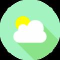 时光天气app icon图