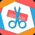天天换发型app icon图