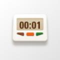 厨房倒计时app icon图