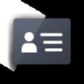 云极名片app icon图