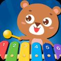 亲亲熊弹木琴app icon图