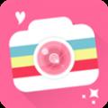 激萌美颜相机app icon图