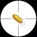 飞盘射击app icon图