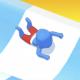 水上乐园滑梯竞速游戏